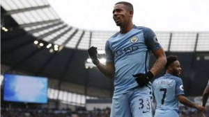 "Britain Soccer Football - Manchester City v Swansea City - Premier League - Etihad Stadium - 5/2/17 Manchester City's Gabriel Jesus celebrates scoring their first goal  Reuters / Andrew Yates Livepic EDITORIAL USE ONLY. No use with unauthorized audio, video, data, fixture lists, club/league logos or ""live"" services. Online in-match use limited to 45 images, no video emulation. No use in betting, games or single club/league/player publications.  Please contact your account representative for further details."